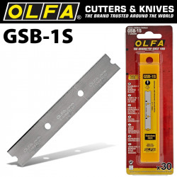 OLFA STAINLESS STEEL BLADES GSB X30