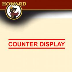HOWARD COUNTER DISPLAY - LEATHER CONDITIONER (LC0008 X 20)